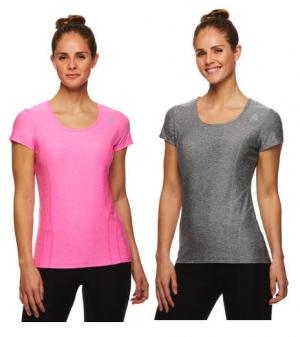 [買1送1] Reebok 女士 T-Shirt – 多色可選 2件只需 $9.99(原價1件$30)