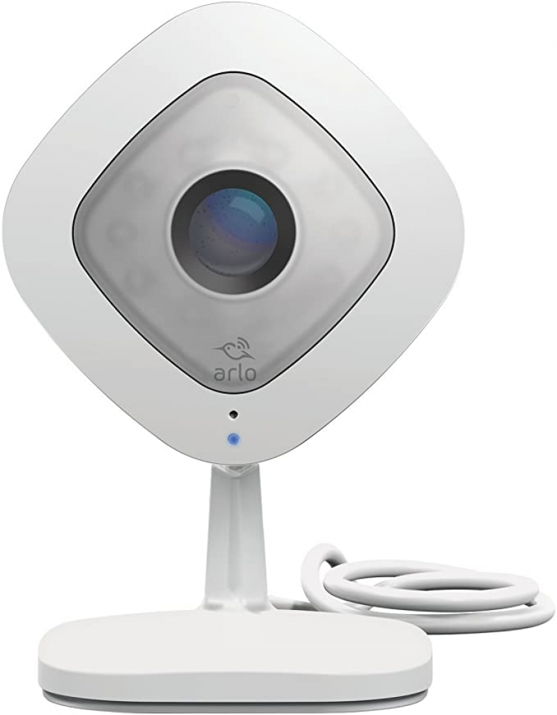 ihocon: Netgear Arlo Q 1080P HD Wired Security Camera with 2 Way Audio Works with Alexa 居家安全監視鏡頭
