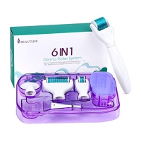 ihocon: Beautlife 6 in 1 Microneedle Derma Roller .25mm Kit for Face and Body 六合一微針滾輪組