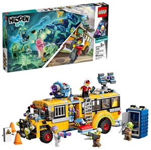 ihocon: LEGO Hidden Side Paranormal Intercept Bus 3000 70423 Augmented Reality (AR) Building Kit with Toy Bus, Toy App allows for endless Creative Play with Ghost Toys and Vehicle (689 Pieces)