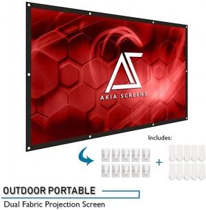 Akia Screens 120吋 16:9  投影機螢幕 $18.99