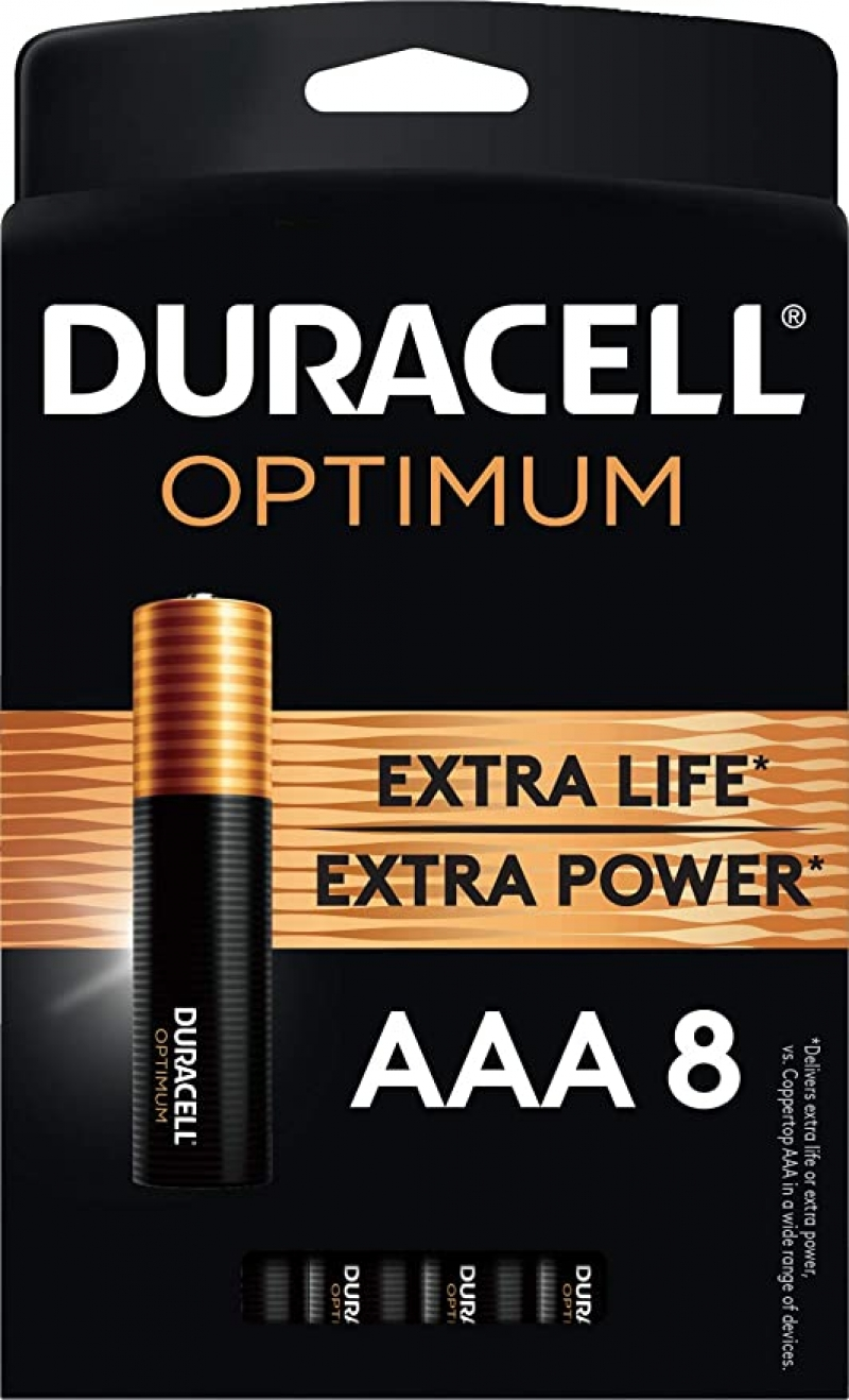 ihocon: Duracell Optimum AAA Batteries | 8 Count Pack 電池