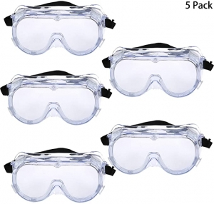 ihocon: Trounistro 5 Pack Safety Goggles安全護目鏡
