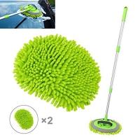 ihocon: Coindivi 2 in 1 Microfiber Car Wash Mop / Mitt 長柄超細纖維洗車刷