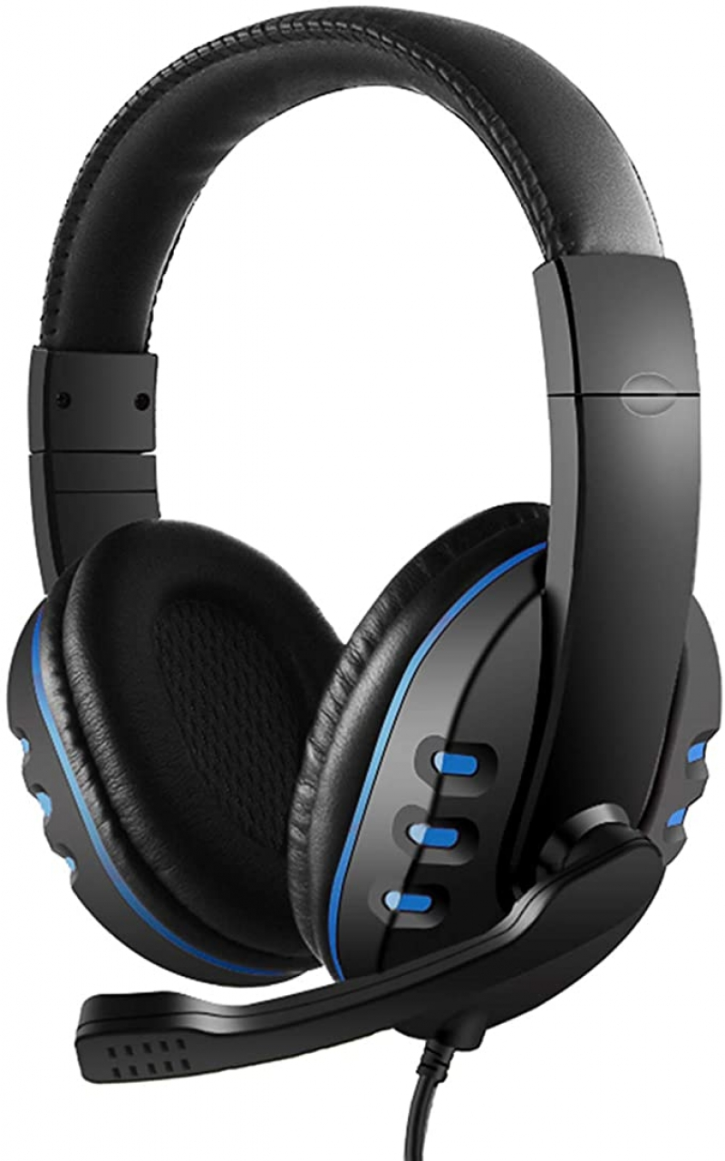 ihocon: Zwbfu 3.5mm Wired Gaming Headphones with Microphone Volume Control 遊戲耳機