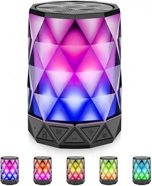 ihocon: LFS Portable Bluetooth Speakers with Lights LED彩燈藍牙揚聲器