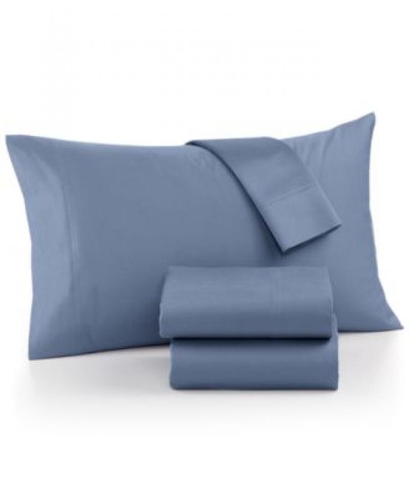 ihocon: AQ Textiles Ultra Cool 700-Thread Count 4-Pc. Queen Sheet Set  超涼爽床單枕頭套組-多色可選