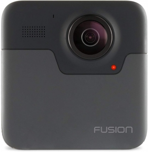 ihocon: GoPro Fusion 5.2K Ultra HD Camera (Black) 運動相機