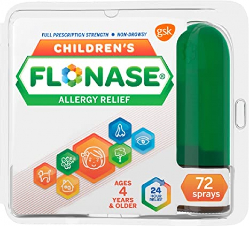 ihocon: Flonase Children's Allergy Relief Nasal Spray, 72 sprays 兒童抗過敏鼻噴霧