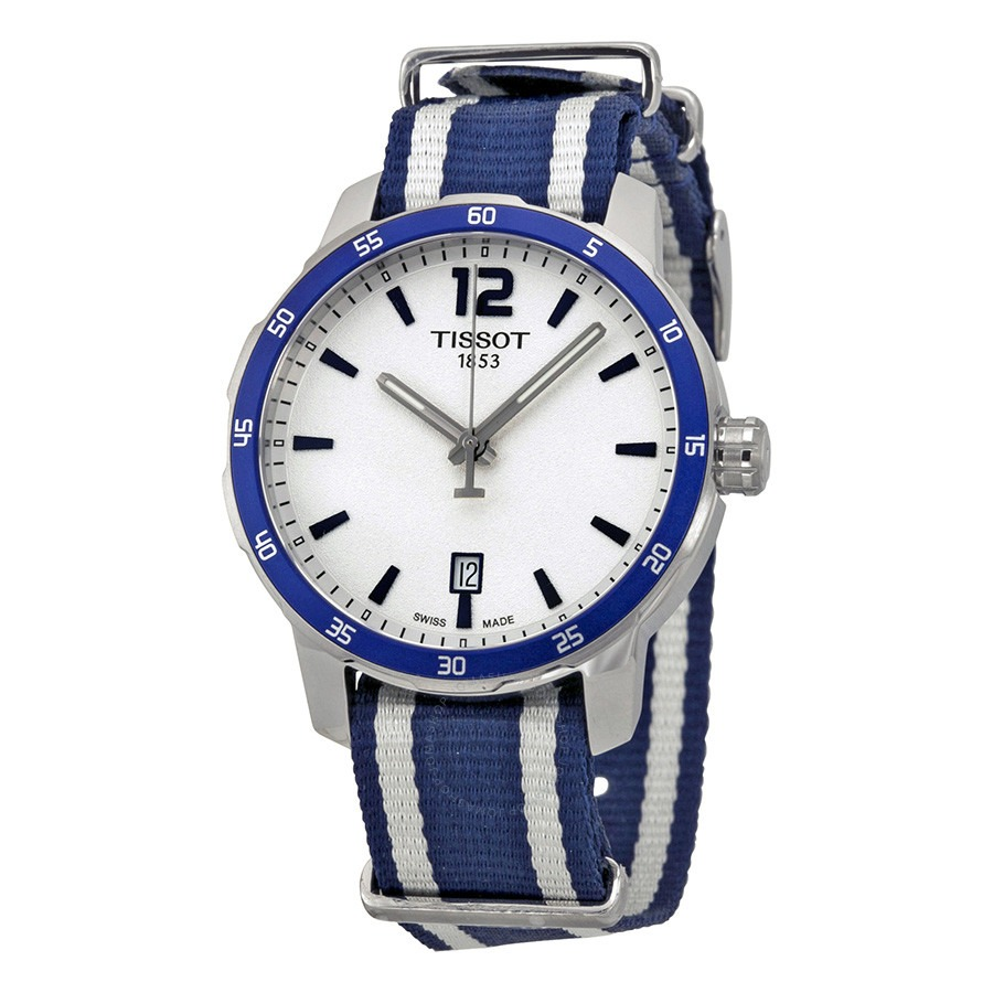 ihocon: [男,女均適用] Tissot Quickster Silver Dial Unisex Watch T0954101703701 天梭錶
