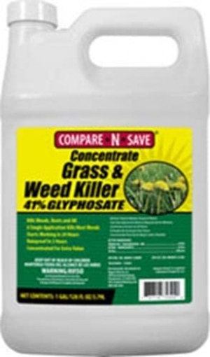 ihocon: Compare-N-Save 016869 Concentrate Grass and Weed Killer, 41-Percent Glyphosate, 1-Gallon 濃縮除草劑