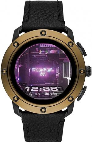 ihocon: Diesel On Men's Axial Stainless Steel Touchscreen Smartwatch with Speaker 男士智能錶(GPS, NFC,心率監測, Speaker)