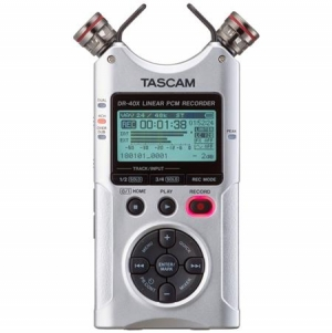 ihocon: Tascam DR-40X Four-Track Digital Audio Recorder and USB Audio Interface 四軌數位錄音機