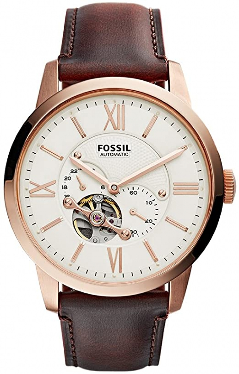 ihocon: Fossil Men's Townsman Automatic Stainless Steel Mechanical Watch  男士機械表
