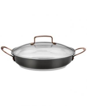 Cuisinart 12吋含蓋不銹鋼鍋 $39.99(原價$89.99)