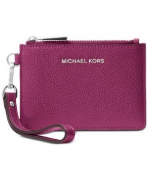 ihocon: MICHAEL Michael Kors Mercer Pebble Leather Coin Purse 零錢包 - 2色可選