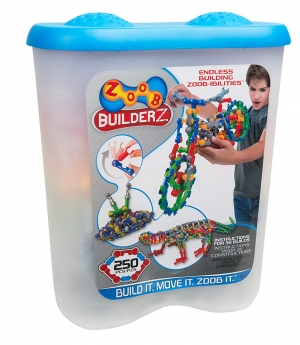 ihocon: Zoob BuilderZ Building Set Kit, 250-Piece