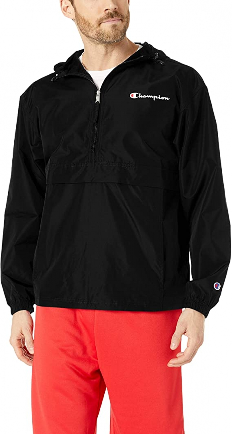 ihocon: Champion Men's Packable Jacket 男士夾克