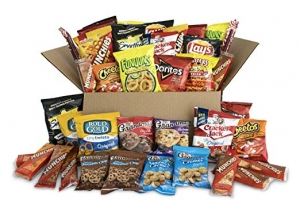 ihocon: Ultimate Snack Care Package, Variety Assortment of Chips, Cookies, Crackers & More, 40 Count