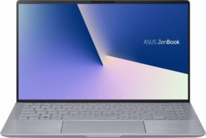 ihocon: Asus Zenbook 14 FHD Laptop with AMD Core Ryzen 5 4500U / 8GB / 256GB SSD / Win 10 (Gray)