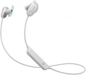 ihocon: Sony SP600N Wireless Noise Canceling Sports In-Ear Headphones, White (WI-SP600N/W) 藍芽無線降噪耳機