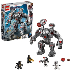 ihocon: LEGO Marvel Avengers War Machine Buster 76124 Superhero Mech Building Toy (362 pieces)