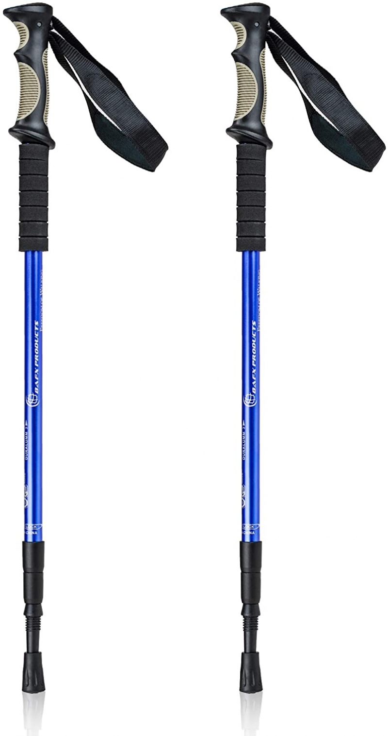 ihocon: Bafx Products Trekking Walking Hiking Poles 輕型登山杖