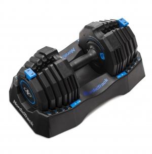 ihocon: Nordictrack 50lb Adjustable Dumbbell, Single with Storage Tray  50磅可調重量啞鈴