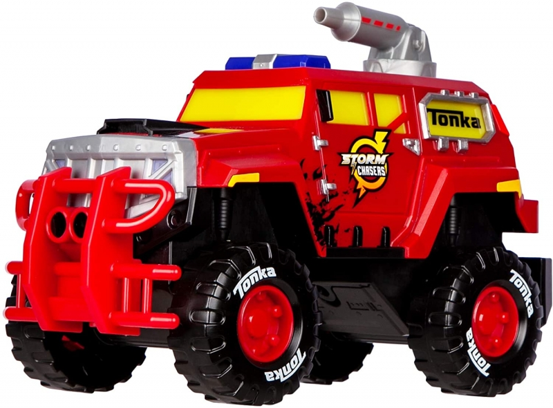 ihocon: 兒童玩具救火車 Basic Fun Tonka - Mega Machines Storm Chasers L&S - Wild Fire Rescue