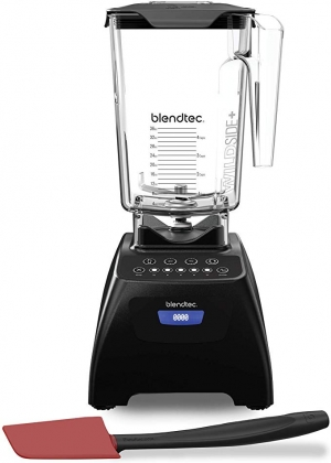 ihocon: Blendtec Classic 575 Blender - WildSide+ Jar (90 oz) and Spoonula Spatula BUNDLE
