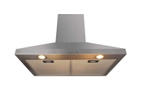 ihocon: Lycan 30 Inch Wall Mount Range Hood Chimney Style Kitchen Oven Stove Vent with 400CFM Airflow, Push Button & ED Light 抽油煙機煙
