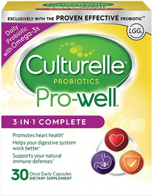 ihocon: Culturelle Pro-Well 3-in-1 Complete Daily Formula, 30 Count 三合一益生菌