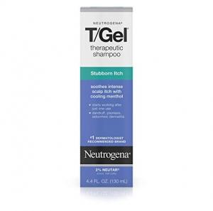 ihocon: Neutrogena T/Gel Therapeutic Stubborn Itch Anti-Dandruff Shampoo With Cooling Menthol, 4.4 fl. oz 露得清洗髮精
