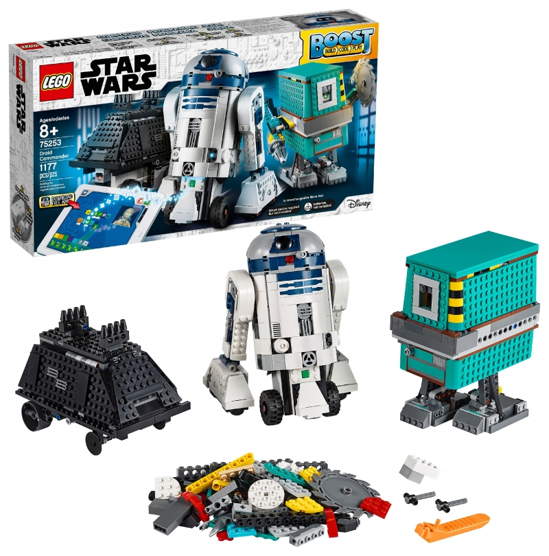 ihocon: 樂高星球大戰 LEGO Star Wars Boost Droid Commander 75253 Building Set, Learn to Code