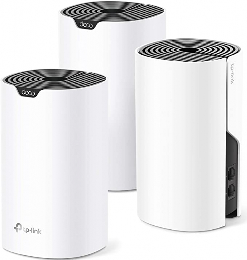 ihocon: TP-Link Deco Mesh WiFi System (Deco S4) – Up to 5,500 Sq.ft, 3-pack 全家網路系統