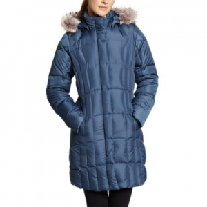 ihocon: Eddie Bauer women's Lodge Down Parka 女士羽絨長外套 - 多色可選
