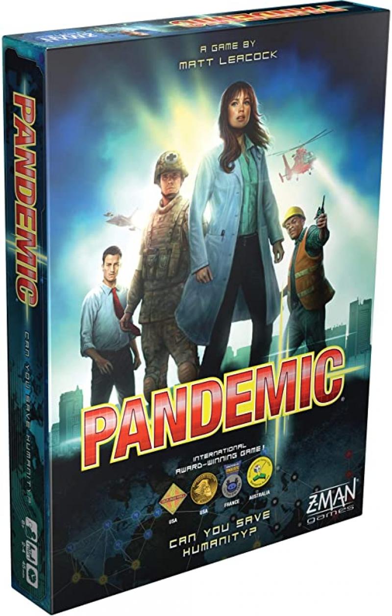 ihocon: 桌遊 - Pandemic