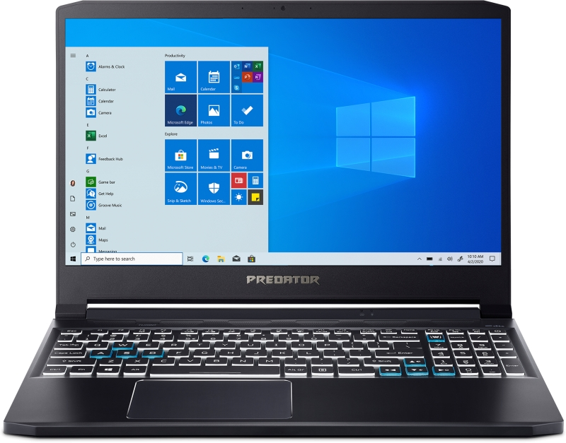 ihocon: Acer Predator Triton 300 PT315-52-729T 15.6 Gaming Laptop (i7-10750H 16GB 1TB SSD RTX 2070)