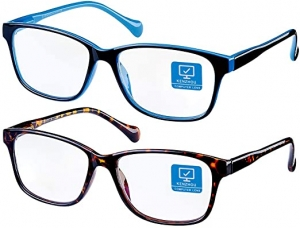 ihocon: K KENZHOU Blue Light Blocking Computer Glasses 2 Pack 抗藍光電腦眼鏡