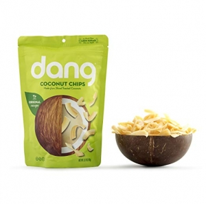 ihocon: Dang Toasted Coconut Chips, Gluten-Free, Vegan, Non-GMO, Original, 3.17 Ounce (1 Count) 椰子脆片