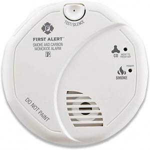 ihocon: First Alert Smoke Detector and Carbon Monoxide Detector Alarm   Battery Operated, SCO5CN 偵煙及一氧化碳偵測警報器