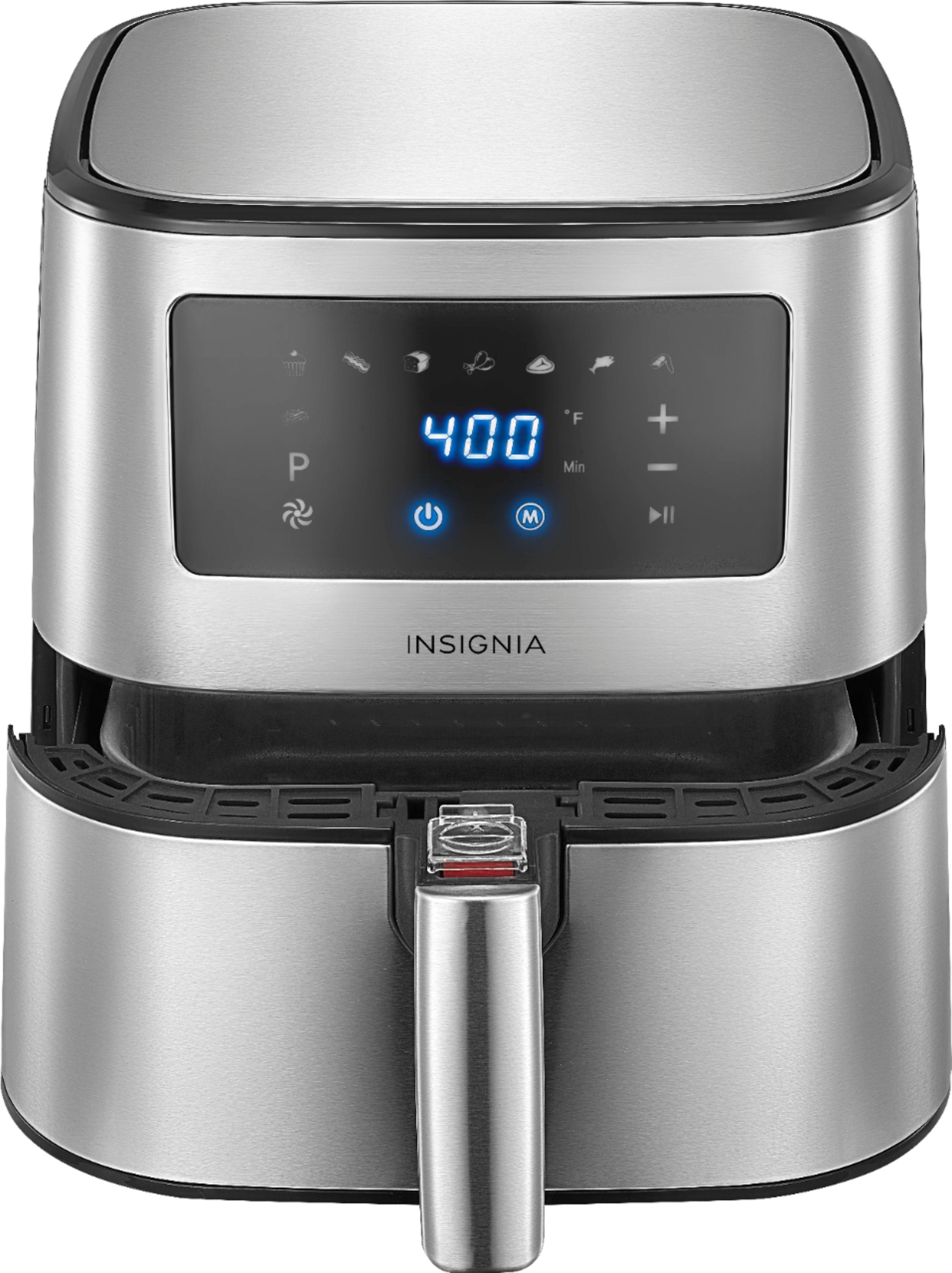 ihocon: Insignia 5Qt. Digital Air Fryer 不銹鋼氣炸鍋