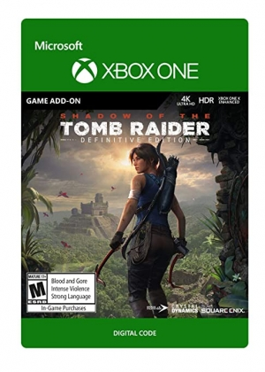 ihocon: [Xbox One遊戲, Digital Code] Shadow of the Tomb Raider: Definitive Edition Extra Content