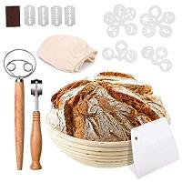 ihocon: Bread Proofing Baskets Set 麵包發酵籃及工具
