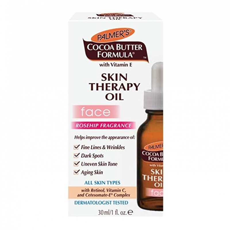ihocon: Palmer's Cocoa Butter Formula Skin Therapy Oil for Face 1 oz 臉部護膚油