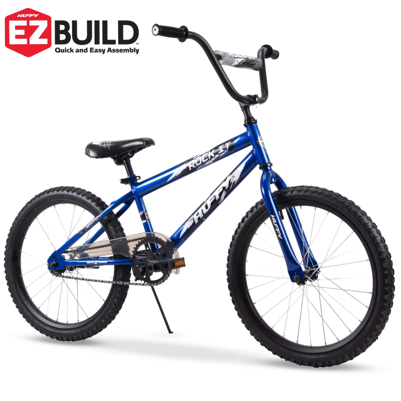 ihocon: Huffy Huffy 20-Inch Rock It Boys Bike , Royal Blue Gloss 兒童自行車