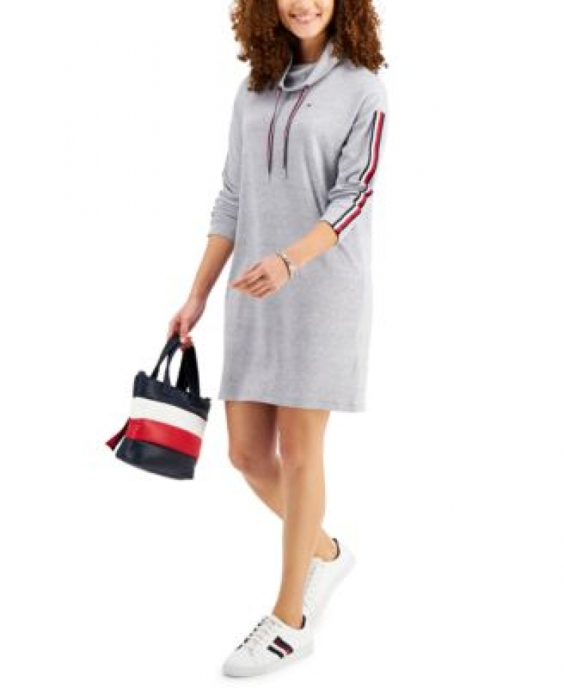 ihocon: Tommy Hilfiger Funnel-Neck Dress洋裝