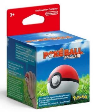 Nintendo Switch Poke Ball Plus 精靈球 $19.99(原價$49.99)