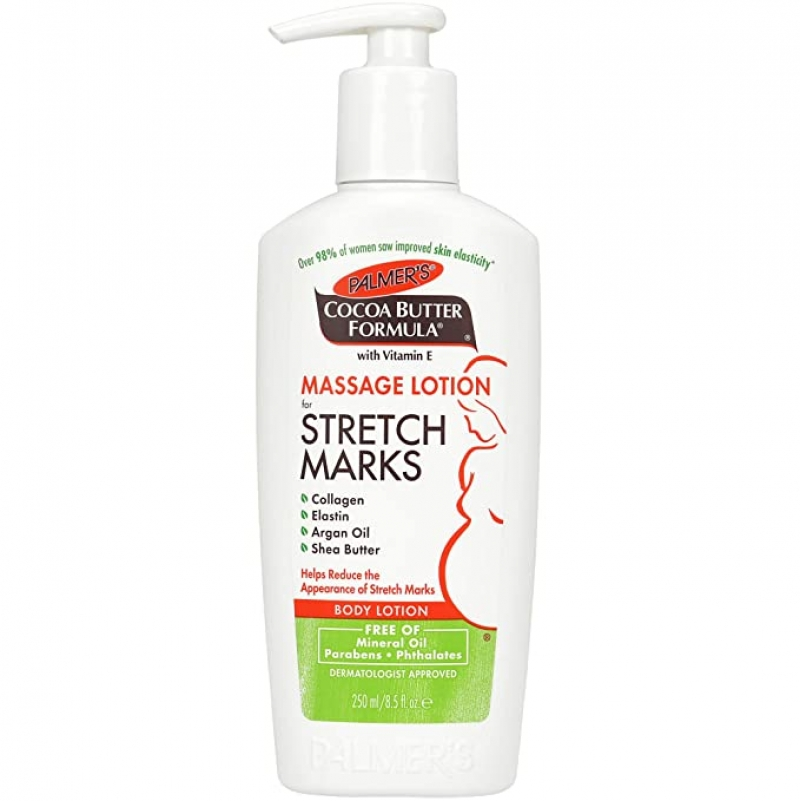 ihocon: Palmer's Cocoa Butter Formula Massage Lotion For Stretch Marks, Pregnancy Skin Care, 8.5 Ounces  妊娠紋按摩乳