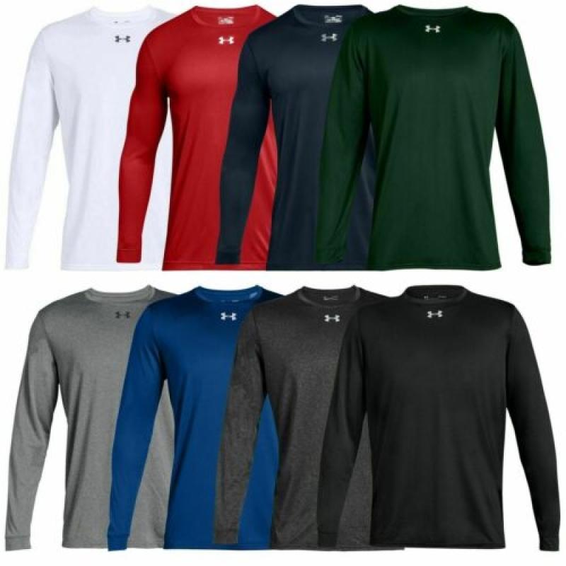 ihocon: Men's Under Armour Gym Muscle Crew Long Sleeve Tee Shirt Top 男士長袖衫-多色可選